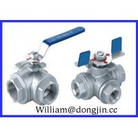 Quality Stainless Steel 3 way ball valve wholesale