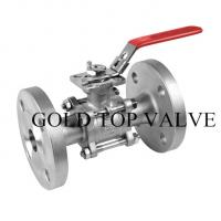 Quality JIS 10k Flange 2PC Floating Stainless Steel Ball Valve wholesale