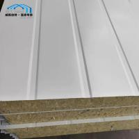 Quality Light Weight Commercial Tent Parts Rock - Wool Sandwich Panel Wall wholesale