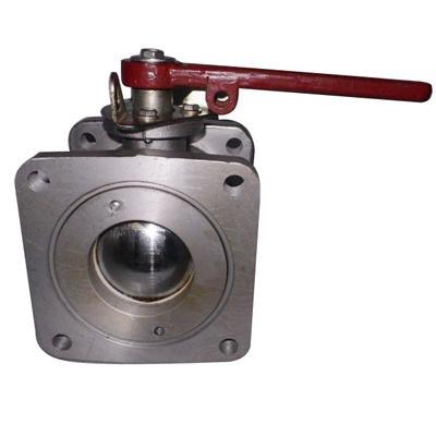 Aluminium alloy square ball valve