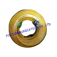 Quality Indoor custom 24 Core Breakout Fiber Network Cable FC / UPC - E2000 / APC SM G.652D wholesale