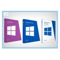 China Original Windows 8.1 64 Bit Product Key Oem Package With DVD Key Card on sale