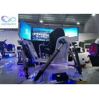 Quality 3 Screens Full View 6 Dof Motion Racing Car Simulator wholesale