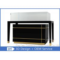 Quality Luxury Nice Black Jewelry Shop Counters / Jewelry Counter Display wholesale