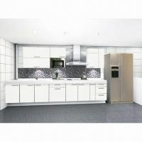 China UV Painted Kitchen Cabinet Door, MDF Board Conforming to E1, E2 Standard on sale