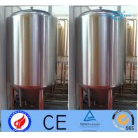 Quality 500L Stainless Steel Beer Making Machine , Fermentation Vessel With Jacket wholesale