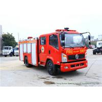 Quality Emergency Fire Fighting Truck With Cummins EQB125 Diesel Engine 4000Liters Water wholesale