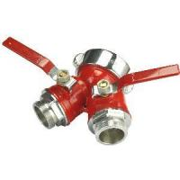 Quality 3 Way Wye Brass Ball Valve With Fire Hose Connection wholesale