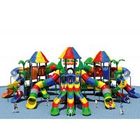 Quality KAIQI Fun Play Systems Playground Equipment Age Range 3-15 Years With Large Slide wholesale