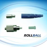 China Corrosion Resistant FC Optical Fiber Connectors With Colorful Boots, Ceramic Ferrule on sale