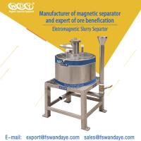 Quality WD-3A89 Manual Magnetic Separator Machine Magnetic Roll Separator For Feldspar wholesale