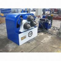 China Section Bender Machine with Heavy-duty Steel Fabricated Frame/Adjustable Side Support Guide Rolls on sale