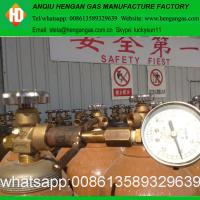 China ISO9809 50L 200bar Helium Gas Cylinder Price With helium gas Low price on sale