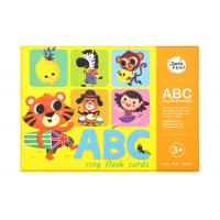 Quality ABC Animal Flashcards / Flashcard Games For Young Learners Grade 1 Grade 2 Kids wholesale
