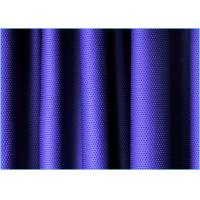 Quality Violet Blue Sportswear Stretch Mesh Fabric 1.6m * 160gsm 90 Polyester 10 Spandex Fabric wholesale