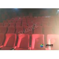 Quality Special Effects Function Movie Theatre Seats / Chairs With Excited Feeling wholesale