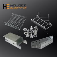 China High Quality Zinc Plated Or Hot Dip Galvanised Nema Standard 300mm Stainless Steel Overhead Small Straight Cable Trays on sale