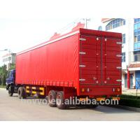 China Strengthen Container Semi Trailer , Cargo Box Semi Trailer Used to Carry Goods on sale