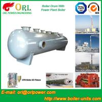 Quality Energy Saving Floor Standing Boiler Mud Drum , Grey High Pressure Drum wholesale