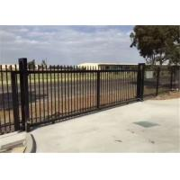 Quality Powder Coated 4x8 Wrought Iron Fence Panels , Wrought Iron Fence Gate wholesale