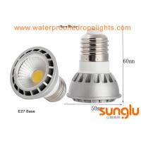 China 5W COB Dimmable LED Spotlights E27 SMD LED GU10 Bulbs For Restaurant / School on sale