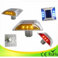 Quality IP68 Aluminum Shell Solar Led Road Stud With 1000M Visual Distance , Solar Cats Eyes wholesale