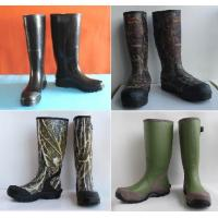 Quality Various Camo Hunting Rubber Boots, Camo Boots (37-47#) wholesale