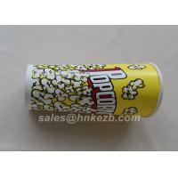 Quality Unfolded 380ml Disposable Ice Cream Paper Cups With Logo Printed 90 * 60 * 110mm wholesale