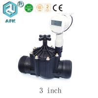 China 800Kpa Irrigation Solenoid Valve AC220 AC110V AC24V With Flange Connector on sale