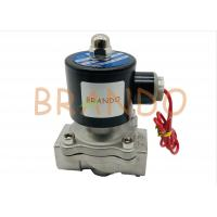 "Quality Normal Closed Pneumatic Solenoid Valve 3/4"" Inches For Water Industry 2S-200-20 wholesale"