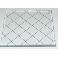 Quality Translucent figured Wire Reinforced Glass for window , door , partition wholesale