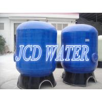 Cheap FRP Commercial Water Softener Treatment Systems With CE / NSF , Custom for sale