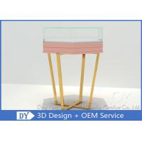 Quality Dis - Assemble Jewelry Glass Display Cabinet / Trade Show Jewelry Display Cases wholesale