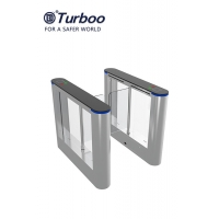 Quality Security Swing Barrier Gate , Entrance Swing Gate Turnstile Pass Width 600-900mm wholesale