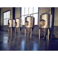 Buy cheap Beer Plant All Stainless Steel Beer Fermenter , 3000l Brewery Fermentation Tanks from wholesalers