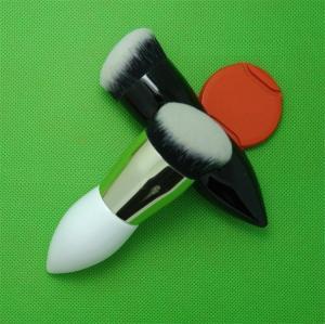 Waist Shape Makeup Powder Brush Wood Handle Nylon Hair Material