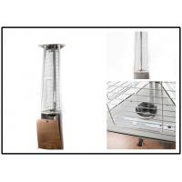 Quality 650mm Gas Garden Patio Heaters , Outdoor Propane Tower Heater 3 Heat Settings wholesale