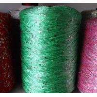 China Soft sequin/spangle/bead knitting yarn for garment, scarf,fancy yarn on sale