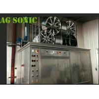 Quality AGSONIC Car Wash Ultrasonic Tire Cleaner Machine With Pneumatic Lift wholesale