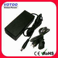 Quality 60W 12V 5A Universal AC Adapter For LED Lamps , European Plug Adapter wholesale