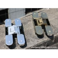 Quality 180 Degree Adjustable Invisible German Hinges Zamak Concealed Door Hinges wholesale
