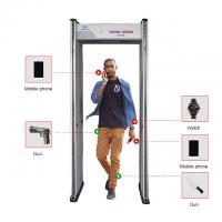 Buy cheap Adjustable Sensitivity Walk Through Metal Detector With LED Light And Sound from wholesalers