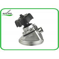 Quality Tank Bottom Sanitary Diaphragm Valve With Butt Weld Connection , Intelligently Designed wholesale