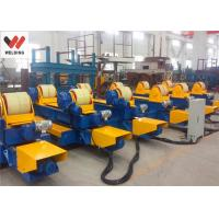 Quality VFD Speed Control Bolt adjustable Pipe Welding Rotator HGK100 for Vessel / Tank Make wholesale