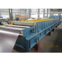 Quality 235Mpa Feeding Coil 1219mm Width Metal Tile Roll Forming Machine With Stacking Use Panasonic PLC wholesale