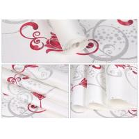 Quality White Foam Floral Self Adhesive Wallpaper Water Resistant Wallpaper For Administration wholesale