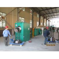 Quality Air Pressure Control Industrial Wire Descaling Machine With Strong Triangular Belt wholesale