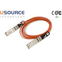 Quality 56G Quadwire AOC 4x14G Infiniband FDR QSFP 56G Breakout Active Optical Cable wholesale