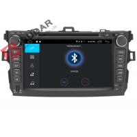 Quality 4G Toyota Corolla Car Gps Navigation System Dvd Player With TPMS OBD Function wholesale