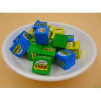 Quality Large Sugar Cubes / Cube Shaped Candy Crispy Feeling Green Snack Foods wholesale